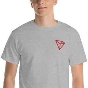 Tron Red Logo Short Sleeve T-Shirt